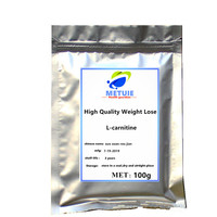 High quality weight lose 99% purity L Carnitine powder festival glitter for face protect against diabetes treat aid in dieting.