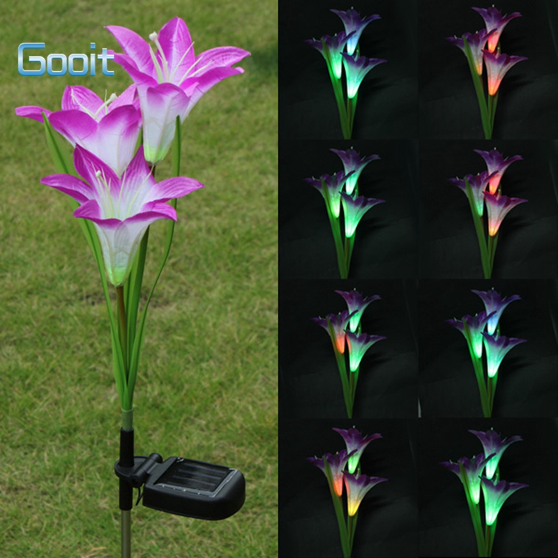 Buy Solar Garden Stakes Color Changing And Get Free Shipping On  AliExpress.com
