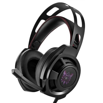 FELYBY M190 computer esports gaming headset wearing luminous anti-noise subwoofer headphones