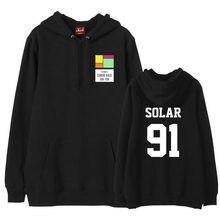 Mamamoo-suéter con estampado de nombre de miembro, sudadera con capucha para seguidores de kpop, irene, monnbyul, polar