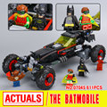 New 559Pcs Lepin 07045 Genuine Superhero Movie Series The Batman Robbin`s Mobile Set Building Blocks Bricks Toys 70905