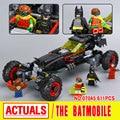Nuevo 559 Unids Lepin 07045 Superhero Movie Series El Móvil de Batman Robbin Genuino Conjunto de Bloques de Construcción Ladrillos Juguetes 70905