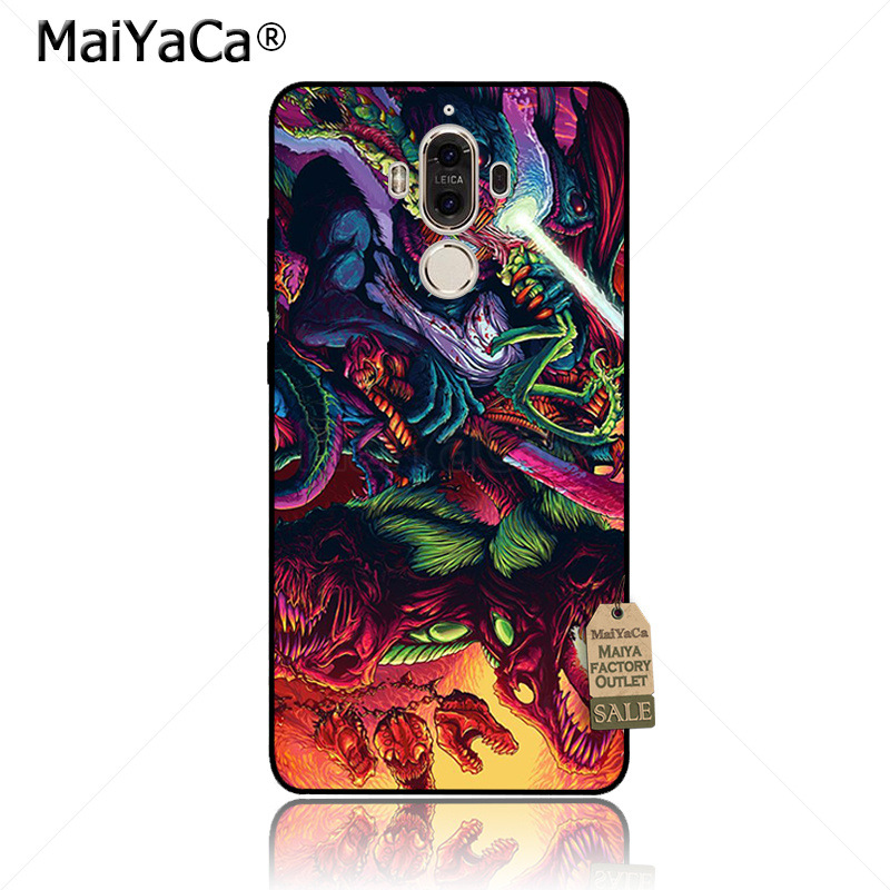 Maiyaca Rabbit On The Moon Classic Print Phone Accessories Case For Huawei Mate9 Mate10 P9 P10 P20 P10 Plus Nova2s Case Cover Cellphones & Telecommunications Half-wrapped Case