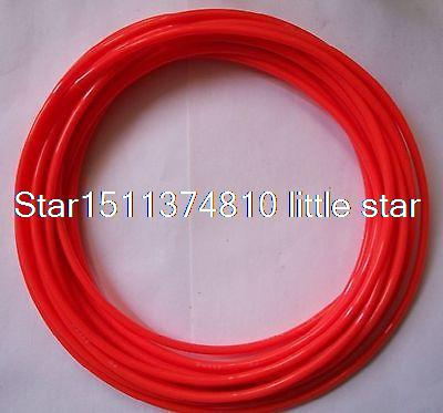 10mm OD  x 6 5mm ID PU Air Tubing Pipe Hose 5 Meter Color Orange cooler zalman cnps90f 775 1156 1155 1150 am2 am2 am3 am3 fm1 fm2 754 939 940 низкопрофильный