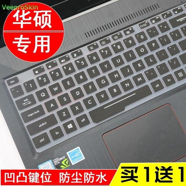 Klawiatura silikonowa pokrywa skórka na laptopa do asus ROG Zephyrus S GX501GI GX501GS GX501 asus GX531 GX531GS notebook 15.6 cal