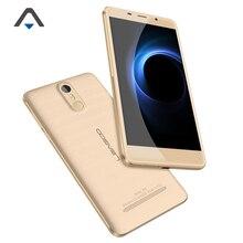 Leagoo M8 3 г мобильного телефона Оперативная память 2 ГБ Встроенная память 16 ГБ Quad Core 13MP 3500 мАч 5.7 дюймов Android 6.0 отпечатков пальцев смартфон с наушником