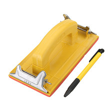 Sandpaper Frame Sandpaper Clip Hand Woodworking Paint Tool For Polishing(China)