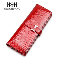 2017 New Genuine Leather Women Men ID Card Holder Card Wallet Purse Credit Card Business Card