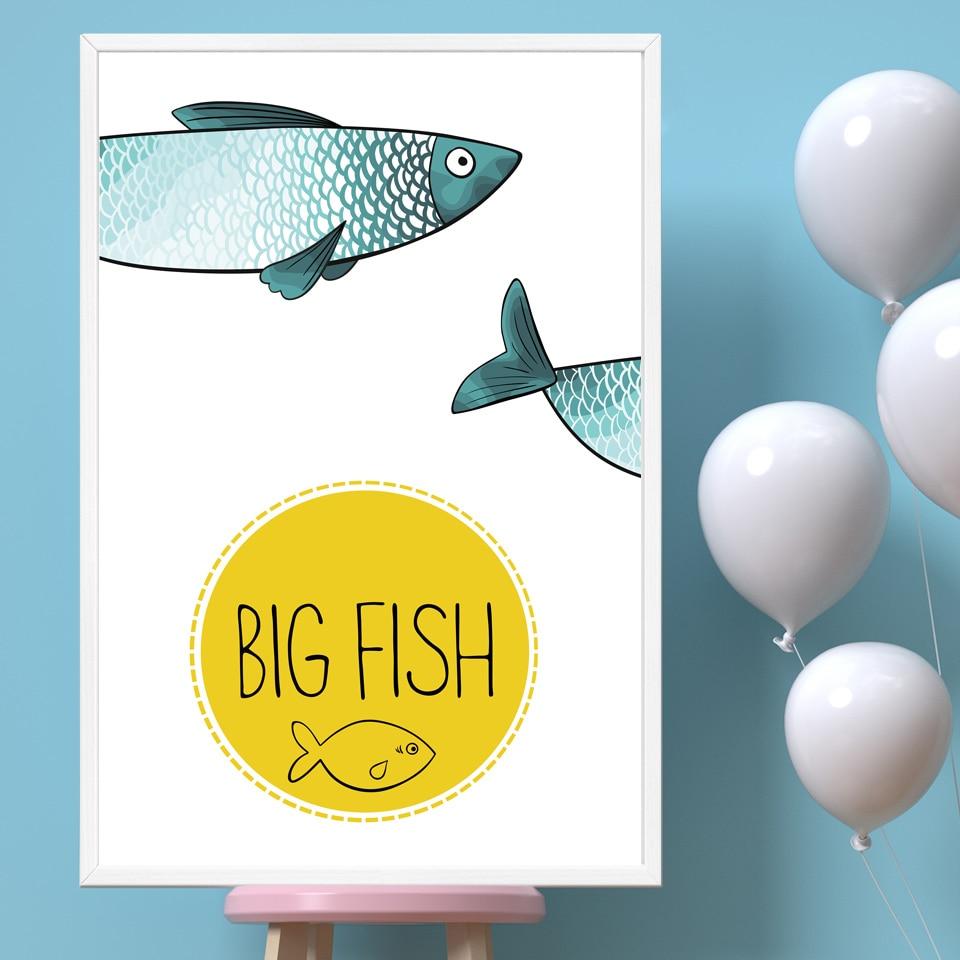 Fantastic Wall Art Fish Frieze - All About Wallart - adelgazare.info