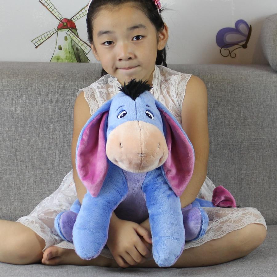 Original 40cm 15.7'' Eeyore Donkey Plush toy Soft Stuffed Animal Dolls for children Birthday Gifts stuffed animal 40cm gray koala bear plush toy soft mother