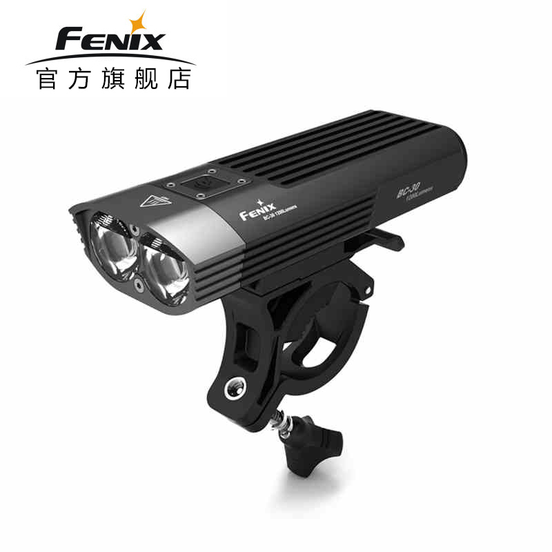 цена на 2018 Fenix BC30 Cree XM-L2 T6 Neutral White LEDs 1800 lumens Ultra-high Intensity Bike Light Search Torch Flashlight