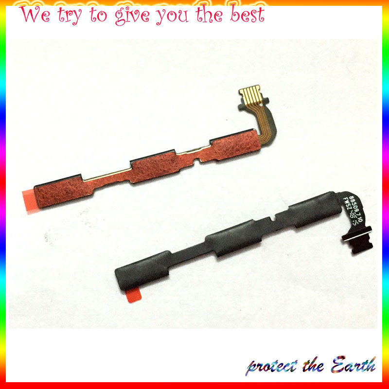 10pcs/lot, Original New Power Flex Cable For Xiaomi Redmi 3 3s On and Off Button Flex Cable Replacement Parts