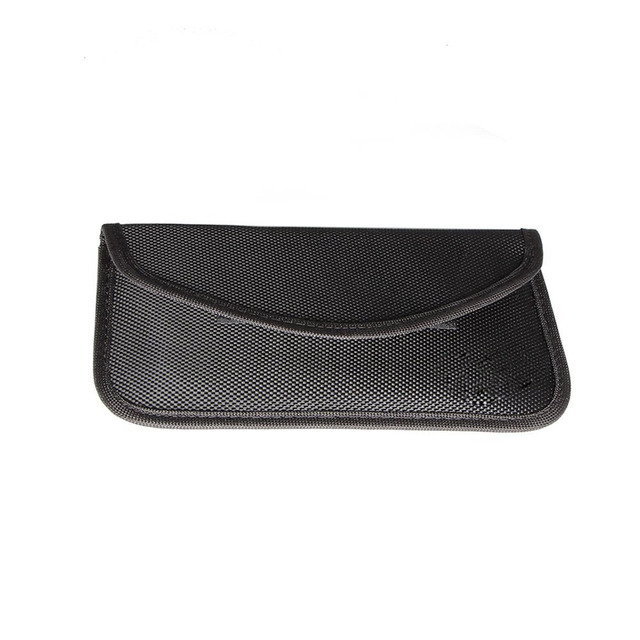 e5bc8903a GSM 3G 4G LTE GPS RF RFID Signal Blocking Bag Anti-Radiation Signal  Shielding Pouch