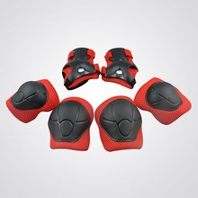 6pcs/Set Child Knee Pads Elbow Pads Wrist Hands Protector Kneecap Kneepads for Scooter Roller Skating Cycling Sports Safety Set