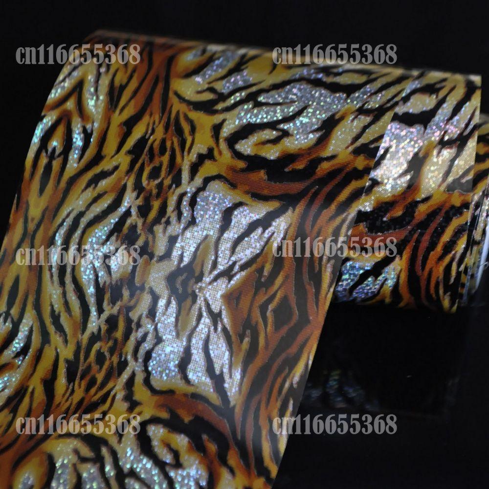 Hot Nail art Transfer Handwerk folie Mode DIY nagel sticker Tipp ...