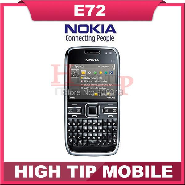 Teléfono móvil E72, nokia desbloqueado con cámara 5.0MP GPS WIFI del teclado qwerty reformadas