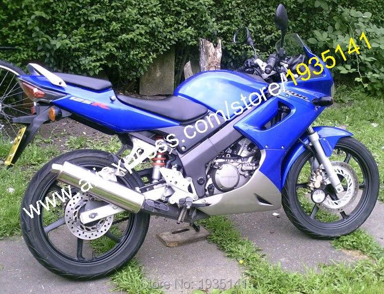 Hot Sales,For Honda CBR125R 02 03 04 05 06 CBR 125R CBR125 R 2002 2003 2004 2005 2006 Blue Gray Aftermarket Motorbike Fairing