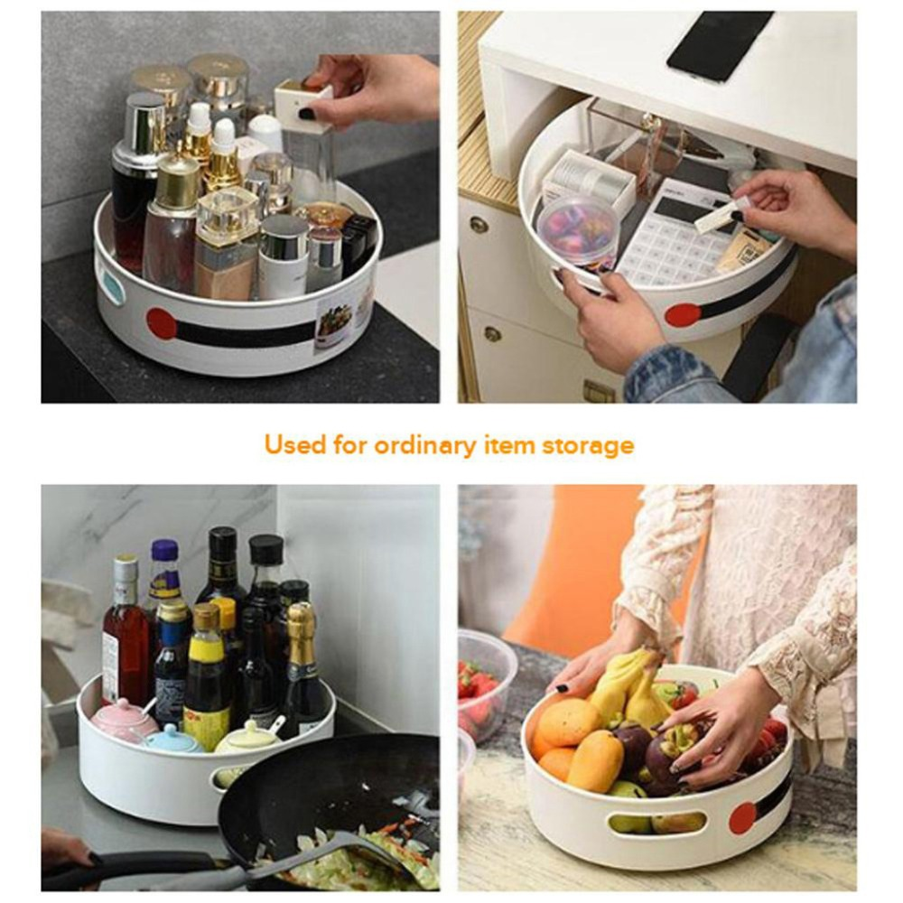 Multi-Function Anti-Skid Rotary Storage Tray for your favourite products