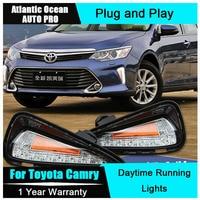 JGRT 2015 For Toyota Camry LED DRL Car Styling New Camry LED Daytime Running Light LED