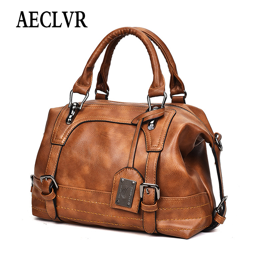 AECLVR Handbags Totes Messenger-Bag Crossbody-Bag Leisure Elegant Retro Women Ladies