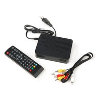 2016 New High Definition Digital Video Broadcasting Terrestrial Receiver DVB T2 Black