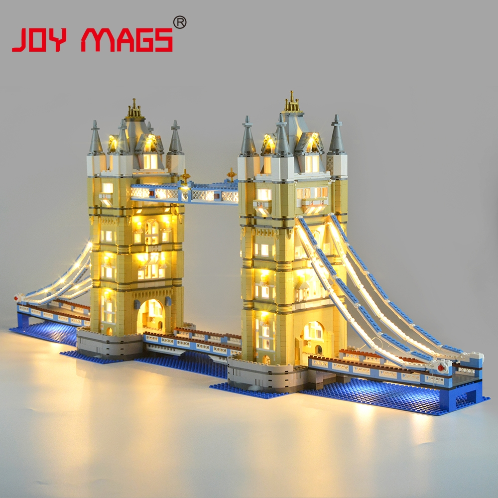 JOY MAGS Led Light Kit Only Light Set For Architecture London Tower Bridge Light Set Compatible