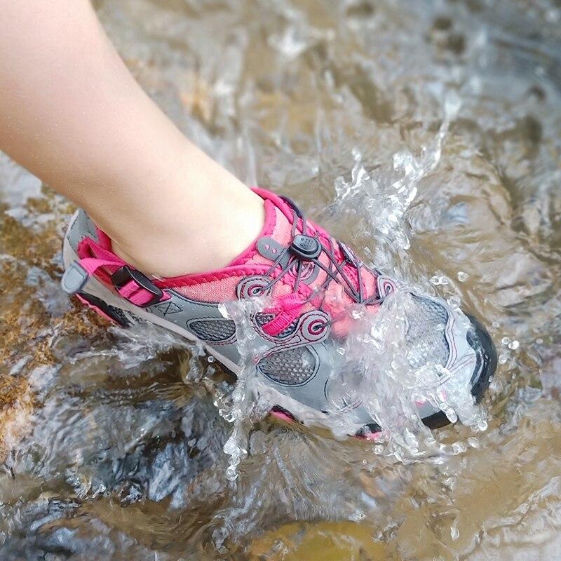 Clorts femmes chaussures de plage Aqua chaussures PU maille Wading chaussures séchage rapide en amont sandale chaussures 3H021C