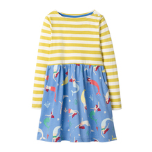 купить New Design Baby Girls Dresses Long Sleeve Kids Clothes For Girl Autumn Winter Dress Girls Clothes Children Clothing Vestidos Hot дешево