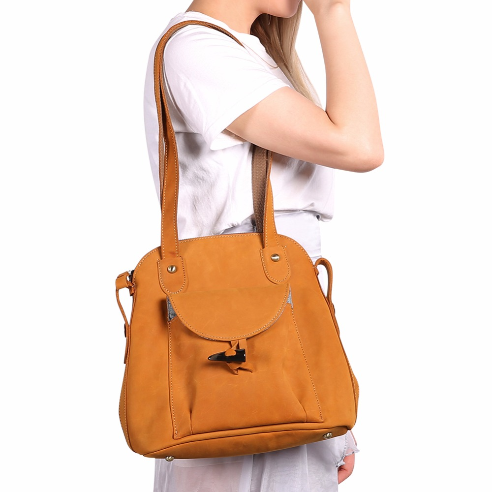 00b3015c66 JOYIR New designer fashion crazy horse brown genuine leather backpacks  woman vintage style women backpack bolsas. sku  32685464393