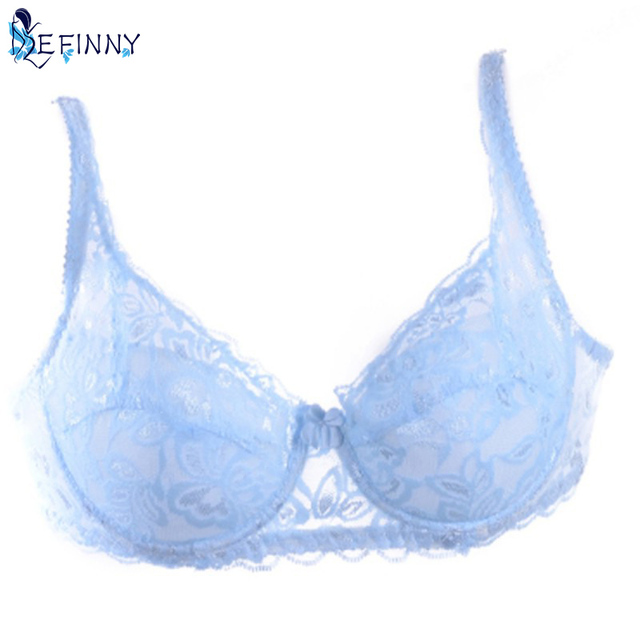Padded Lace Sheer Bra  Cup B ONLY
