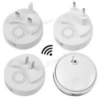 38 Tunes Wireless Cordless Digital Doorbell Remote Door Bell Chime No Need Battery Waterproof 110 240V
