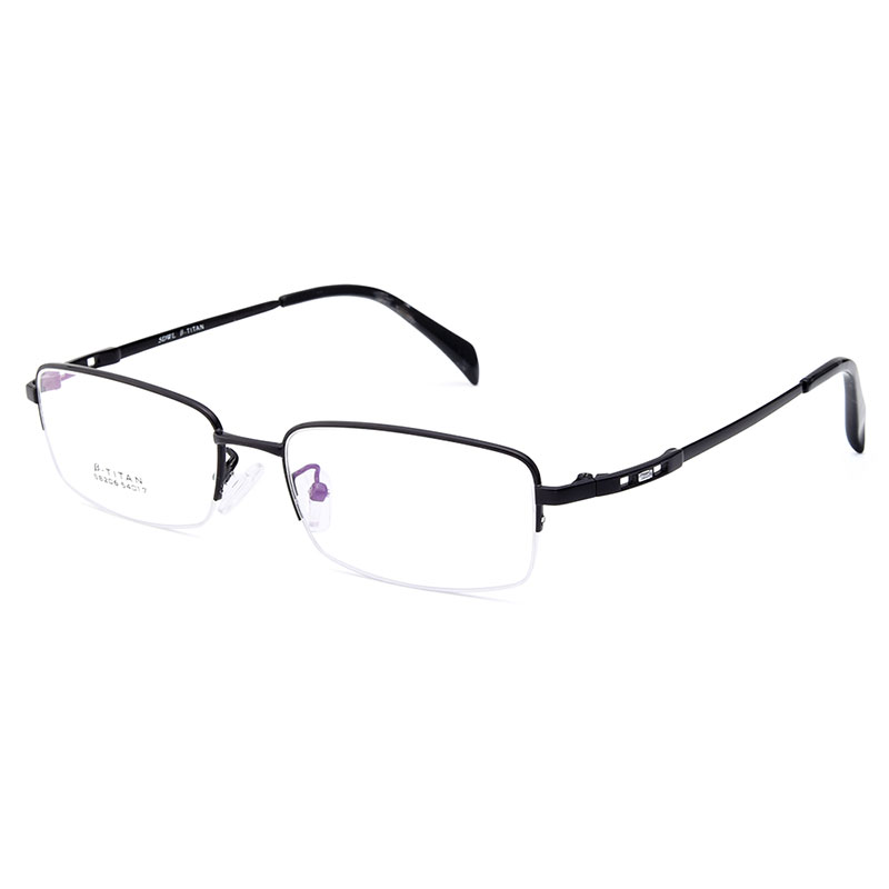3c8a40c00a Gmei Optical S8206 Alloy Metal Semi Rimless Eyeglasses Frame for Men  Prescription Optical Eyewear Glasses-in Eyewear Frames from Apparel  Accessories on ...