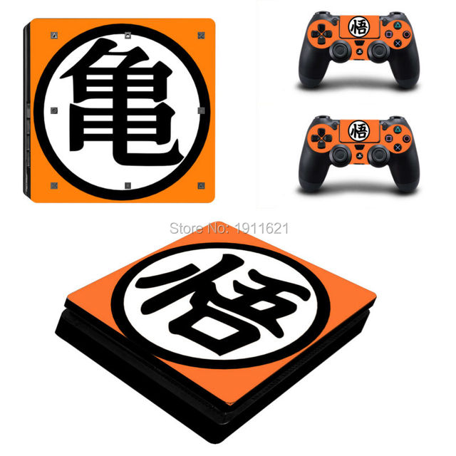 Dragon Ball Z Skins & Stickers for PS4 SLIM