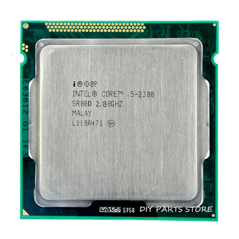 Intel Core i5-2300 cpu I5 2300 prosessor Socket LGA 1155 2.8 GHz 6 MB Cache