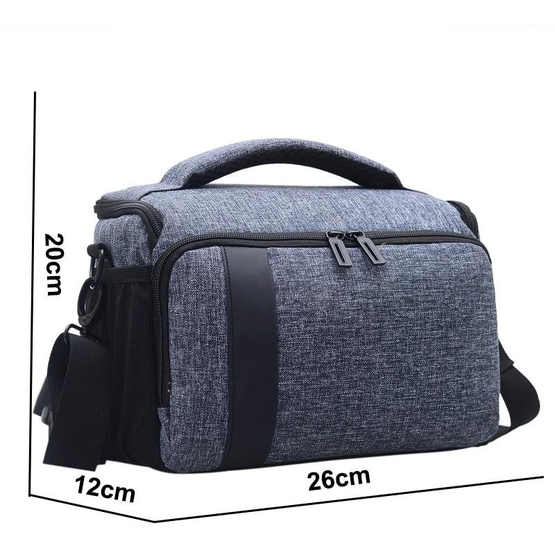 Waterproof Camera Bag For Panasonic FZ2000 FZ300 FZ100 GF9 GF8 GF7 Shoulder Cover Case For Canon EOS D750 550D 600D 650D 700D M5