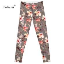 Hot sexy fashion  flower leggins pants digital printing of leggings-limited for women drop shipping