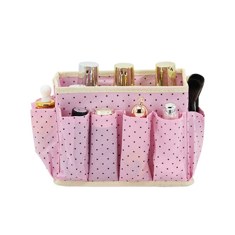 Make up Storage Box Desk Organizer Folding Makeup Tool ...