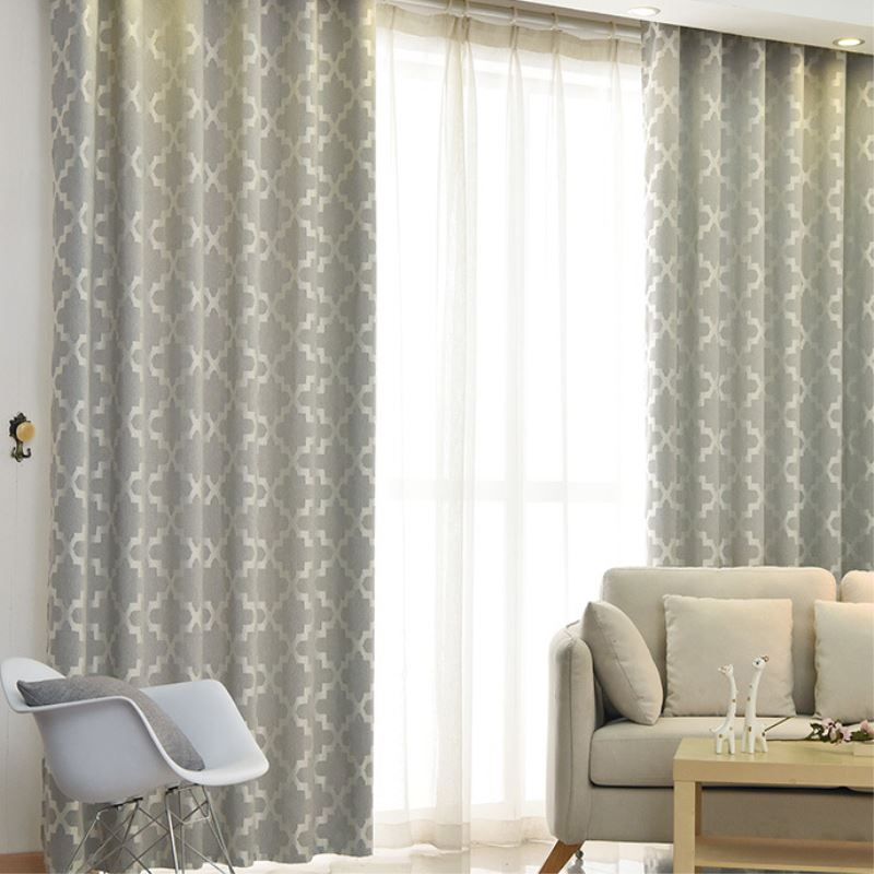 1 piece 13525m bamboo cotton bedroom curtains window shades blackout modern living room