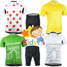 Summer Pro Kids Cycling Kit Breathable and Quick Dry Suit for Children Ropa Ciclismo Bike Clothing Set