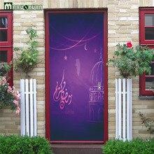 Best Door Eid Al-Fitr Decorations - Maruoxuan-77-200CM-3D-Door-Stickers-Eid-Al-Fitr-Pattern-Creative-Vinyl-Mural-Art-Home-Decor  HD_288583 .jpg