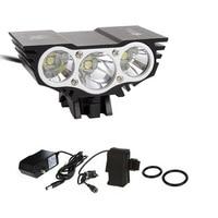 7500 Lm 3x CREE T6 Waterproof Headlamp LED Front Bike Bicycle Light Headlight Light 4