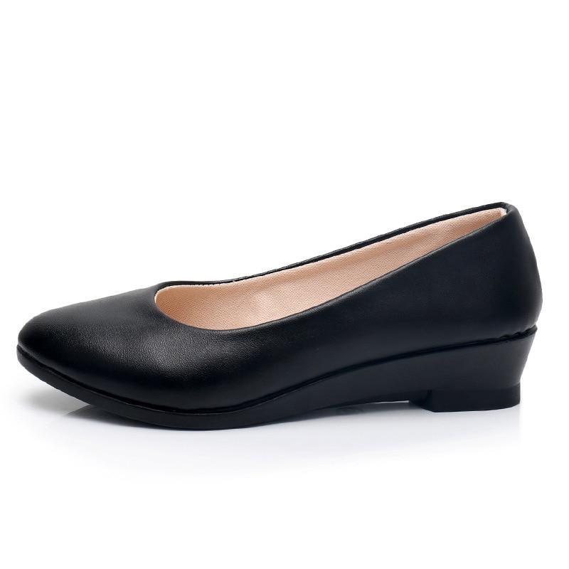 Formal Low Heel Wedges Shoes