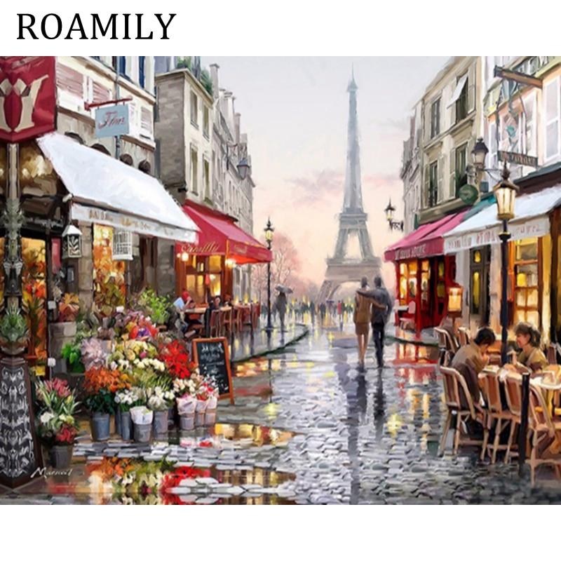 Роамілі, живопис за номерами, - Домашній декор