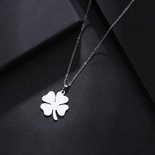 Stainless Steel Leaf Necklace