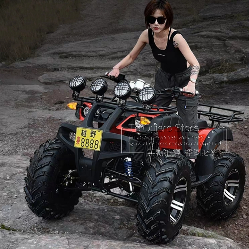 Outdoor Fun Sports Quad Buggy Men and Women Adults Drive Racing Car Games Toy All Terrain Vehicle ATV Sand Beach Car
