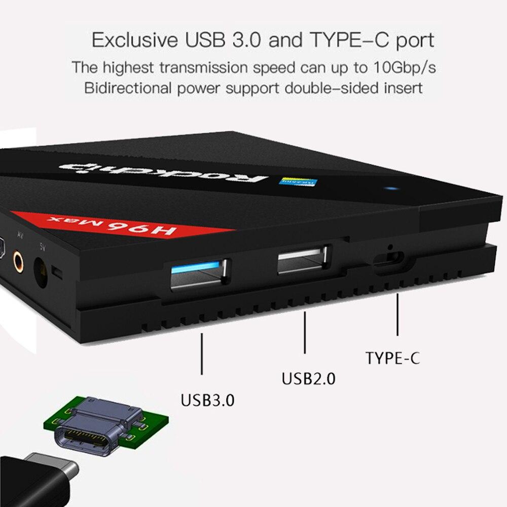 Goede Koop H96 MAX Beste Rockchip RK3399 Android 7 1 TV Box 4 GB RAM
