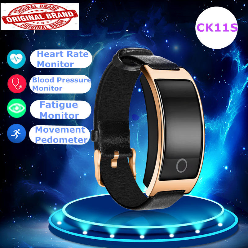CK11S blood pressure smart watch ip68 pressure blood pedometer Fitness Tracker Bracelet PK mi band 2 Pk Xiao mi band 3