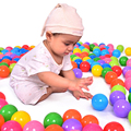 100 PCS Colorido Brinquedo Bola de Plástico Macio Oceano Bola Kid Engraçado Do Bebê swim pit pool water ocean wave bola toys bolas de diâmetro 5.5 cm