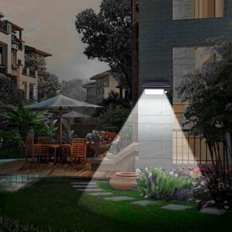 32 LED Collapsible Solar Led Lights Outdoor Garden Decoration Solar Lamp Panel Powered Motion Sensor Wall Street Light ALUVEE