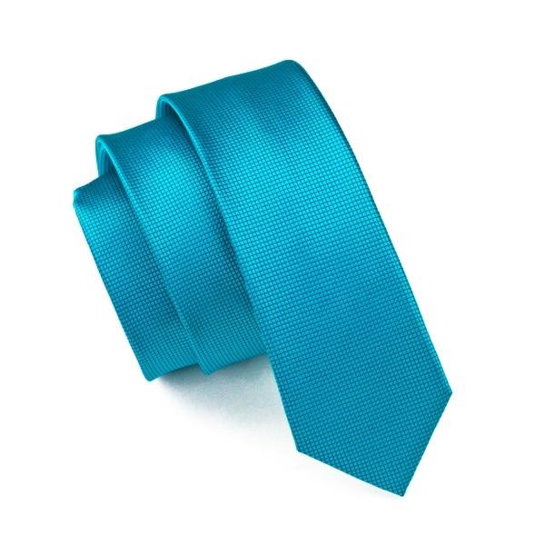 2018 Mode Schlanke Krawatte Blue Solide Dünne Schmale Gravata Silk Jacquardwebstuhl Gesponnenen Krawatten Für Männer 6 Cm Breite Beiläufiger E-061